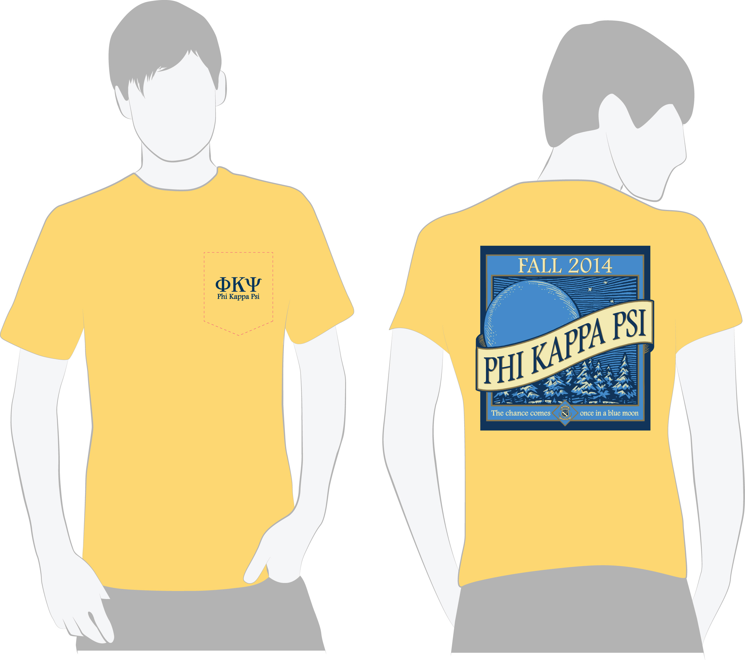Phi psi blue moon talk 39 n t shirts greek for Sorority t shirt design